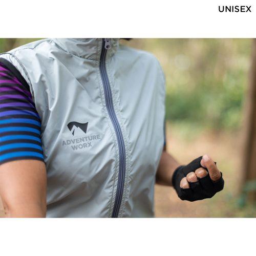 Windproof Jacket - Silver - Image 5