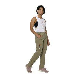 Women's Hiking Pants - Stone Grey