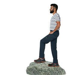 Men's Hiking Pants - Charcoal